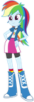MLP EqG: Rainbow Dash by mewtwo-EX