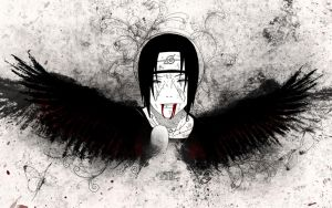 RiP Itachi version 2 by TeaTimePessimist