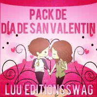 Pack San Valentin by LuuEditionsSwag