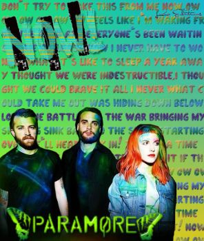 Paramore Now by LuuWaydeGatesREV