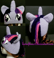 Twilight Sparkle Hat by KateoftheArt