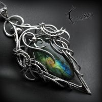 TXARGNAR, Silver and Labradorite. by LUNARIEEN
