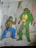 Raph and Robby - colored by xKiaxExPyrosx