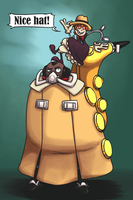 Skullgirls - Nice hat! by LovesFunnyMovies
