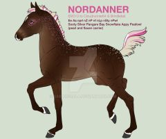 Nordanner Foal Sale by SarahScala