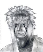 Jiraiya Pencil Portrait by synyster-gates-A7X