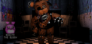 Withered Withered Freddy by De-activating
