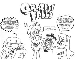 Gravity Falls style by UsagiTail