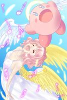 Kirby and Harpy by Arashi-H