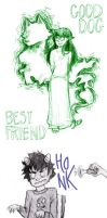 Homestuck Sketchdump by Amandazon