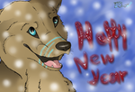 Happy New Year by PrincessShewolf