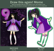 Draw this again! Meme by gateux
