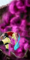 Sakura vs Sasori by darkwings9