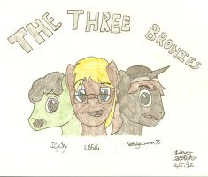 The Three Bronies by LBFable