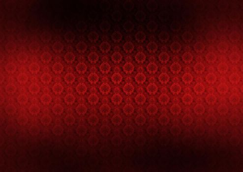 background ornament red by dereque
