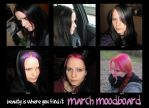 beauty is where you find it: march moodboard by MadameMimii