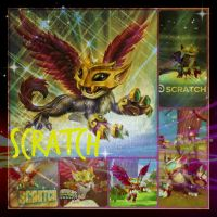 ( Skylanders ) Scratch Collage by KrazyKari
