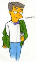 Flirty Smithers by harrimaniac27