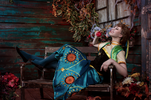 Have some fun! - Frozen Fever Anna cosplay by Verrett