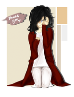 Thank you for being there by EnaMei