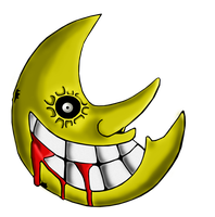 Soul Eater Creepy Moon by TheManuMasters