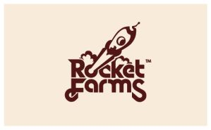 Rocket Farms - Logo by Neverdone
