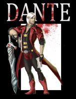 Devil May Cry - Dante by ComicAJ