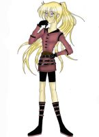 Giselle Violette: Design 1 by IceMaidenChiyoe