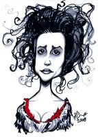 Mrs. Lovett Caricature by hcnoel