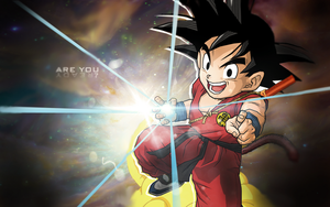 Kid Goku wallpaper by kevenp
