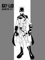 Bat-lad Earth 11 by wonderfully-twisted