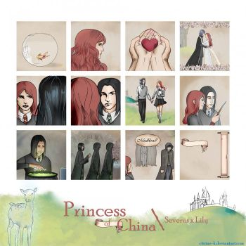 'Princess of China' | Severus x Lily (2015) by Citrine-K
