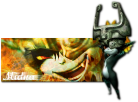 Epic Midna Signature by applejackles