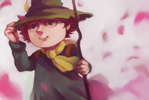 the Moomins : Snufkin by Christine-san