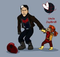 Lian y Uncle JayBird: image two by BobsCookie