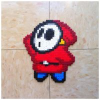Shy Guy Bead Sprite by Night-TAG