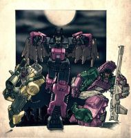 Decepticon Head Masters by Blitz-Wing