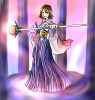 FF10- Yuna- Ready, BATTLE!!! by LukyLady123