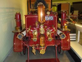 Brass Fire Engine Detail 2 by BonnySaintANdrew