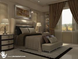classic master bedroom by yoel-touch