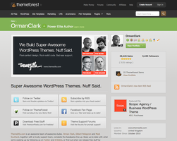 Top 10 OrmanClark (ThemeZilla) Wordpress Themes by CursiveQ-Designs