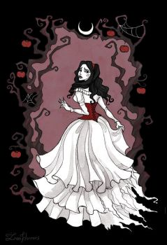 Snow White by IrenHorrors