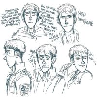Jean Sketches by Jazzie560