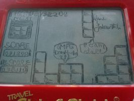 Tetris etch a sketch by pikajane