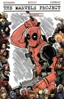 Deadpool Sketch Cover by johnraygun