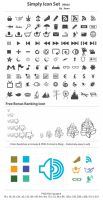 Simply Icon Set_for Web by femographi