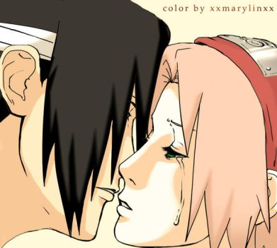 Sasuke and Sakura: Apologise by XxMarylinxX
