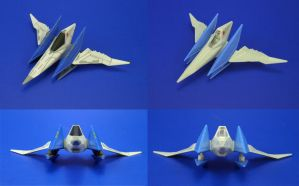 TomyARTS MKC Star Fox - Arwing Edits by Lalam24