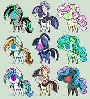 Pony Adoptables 6 - Open by SquishyAdopties