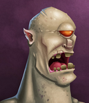 Month O' Monsters - Cyclops! by flattack